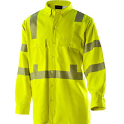 Drifire FR - Hi-Vis Button Down Work Shirt