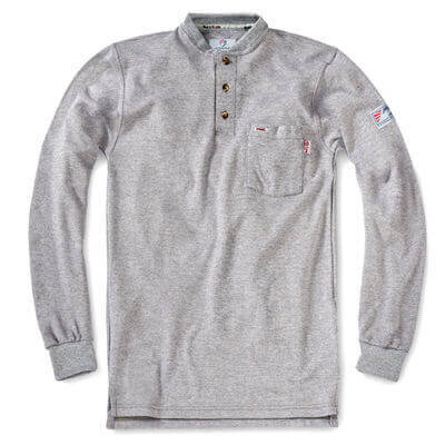 Tyndale FRC - Classic Henley Long Sleeve Shirt