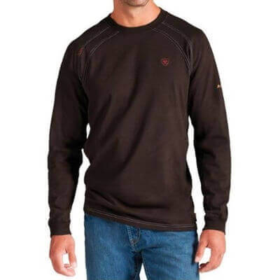 Ariat FR - Men's FR Work Crew Long Sleeve Shirt