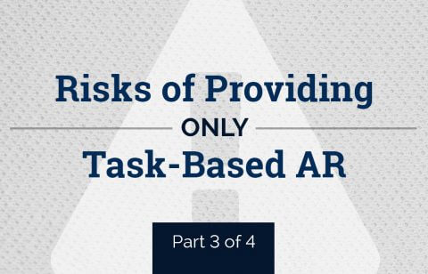 Risks of Only Providing Task-Based AR