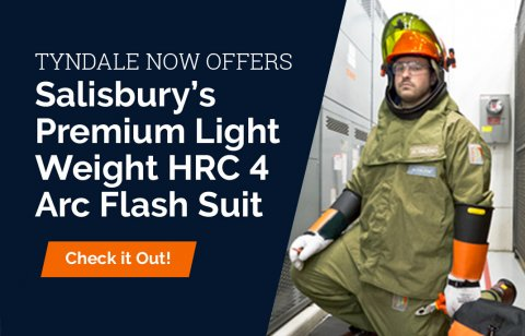 Salisbury 40cal Arc Flash Suit