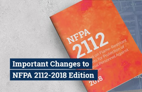 NFPA 2112 Changes in 2018