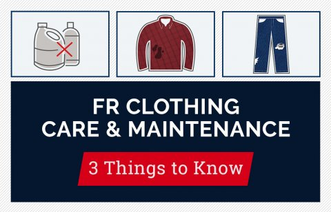 FR Clothing Care and Maintenance
