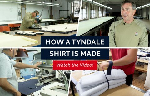 How a Tyndale Shirt is Made