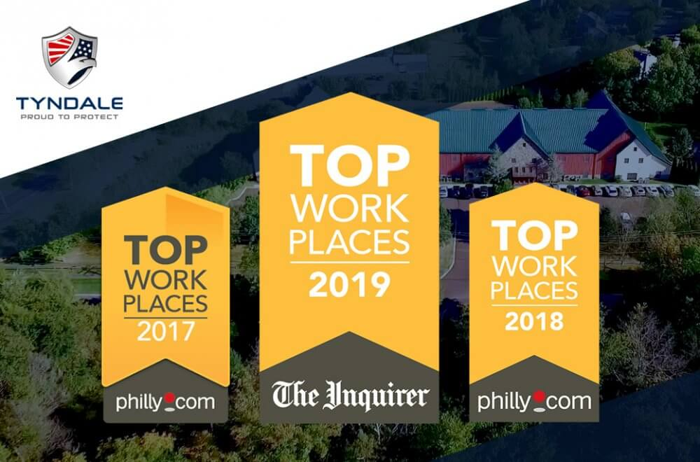 Tyndale Top Work Places 2019